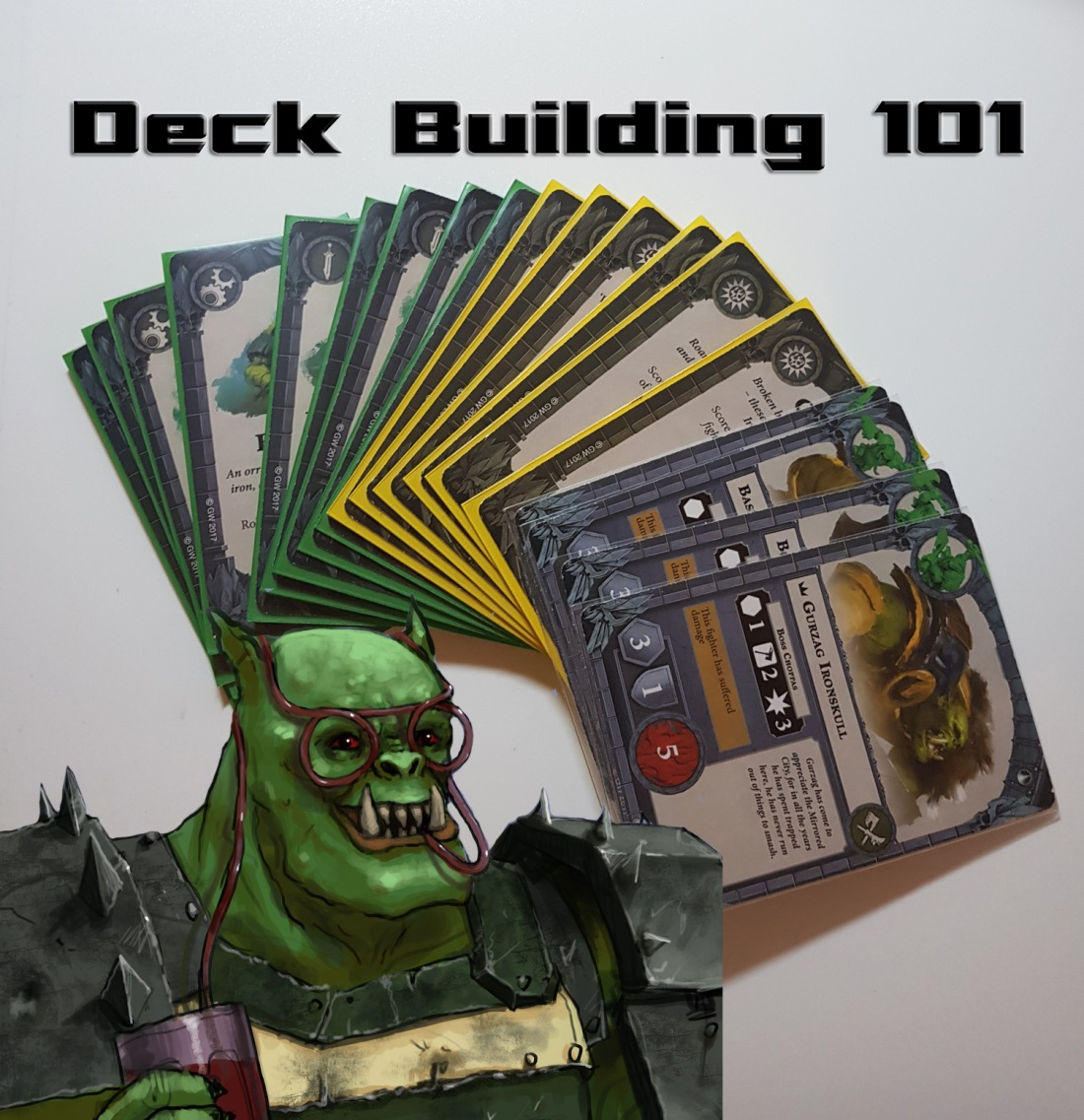 Shadespire Deck Building