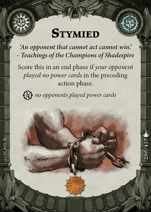 Stymied
